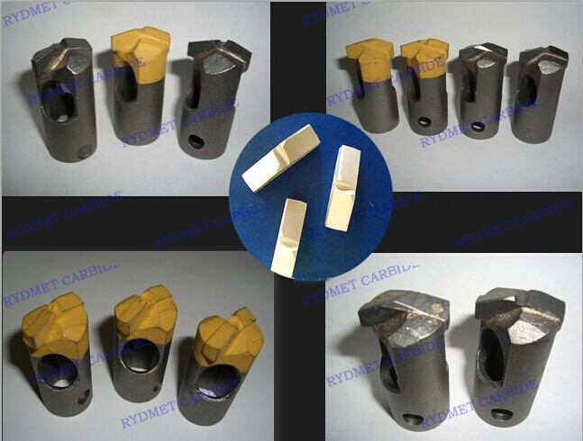 Tungsten Carbide Tips for Roof Bits