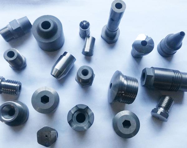 Irregular Carbide Components
