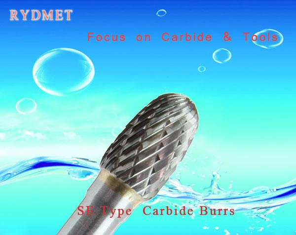 SE Cemented tungsten Carbide Burrs ( Rotary Carbide Files)