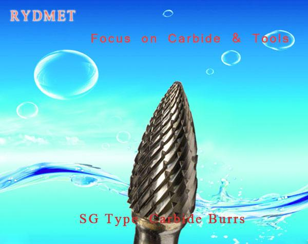 SG Cemented tungsten Carbide Burrs ( Rotary Carbide Files)