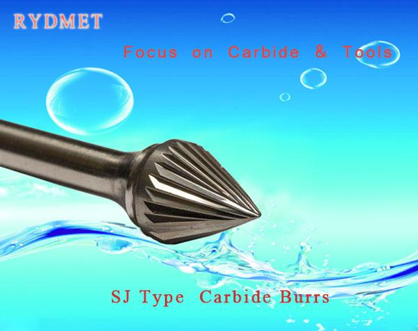 SJ Cemented  Tungsten Carbide Burrs ( Rotary Carbide Files)