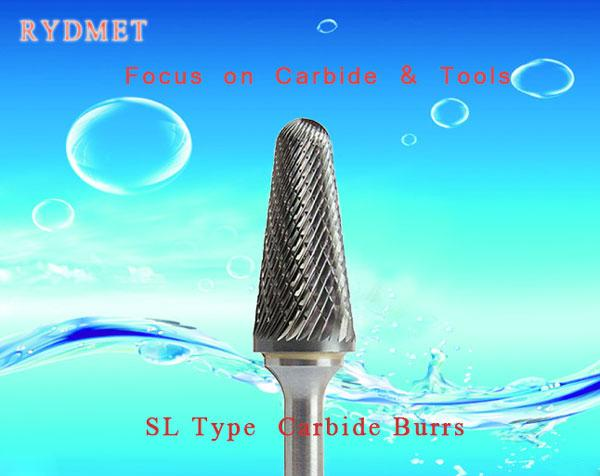 SL Cemented  Tungsten Carbide Burrs ( Rotary Carbide Files)
