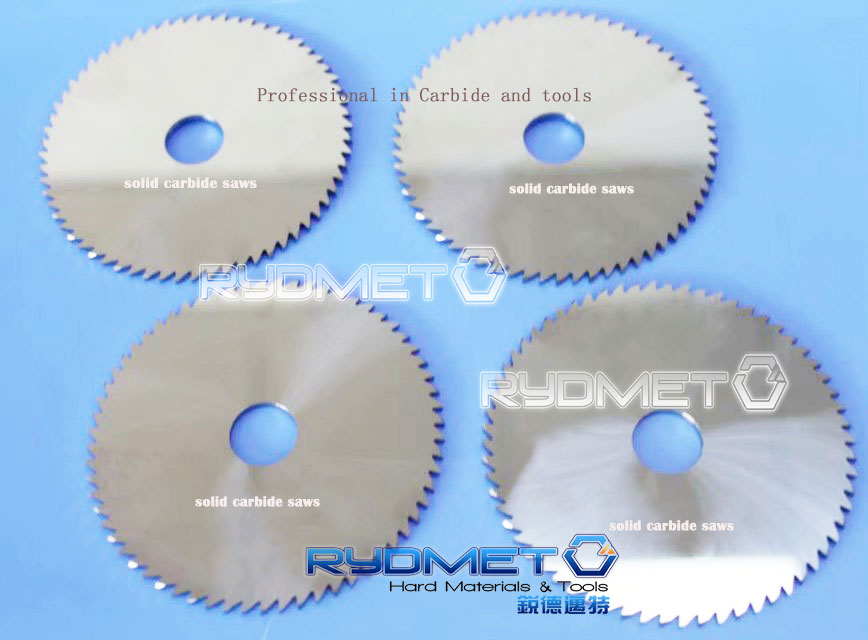 Carbide Seratted Round Knives