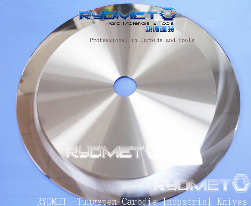 Carbide Slitting Knives for the Corruation Board