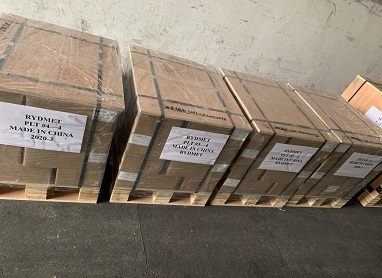 The Shipment of 2 Tons Carbide Buttons in April